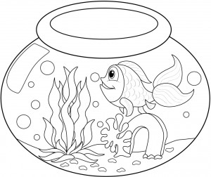 Printable Goldfish Coloring Pages Coloring Me