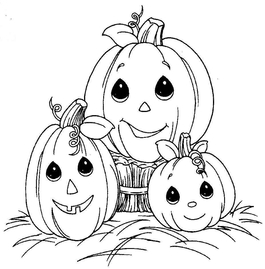 Halloween coloring sheets to print for free halloween for Cute halloween coloring pages free