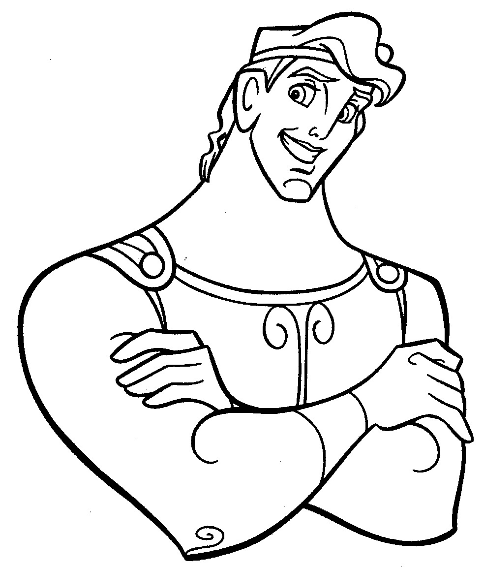 Printable Hercules Coloring Pages | Coloring Me