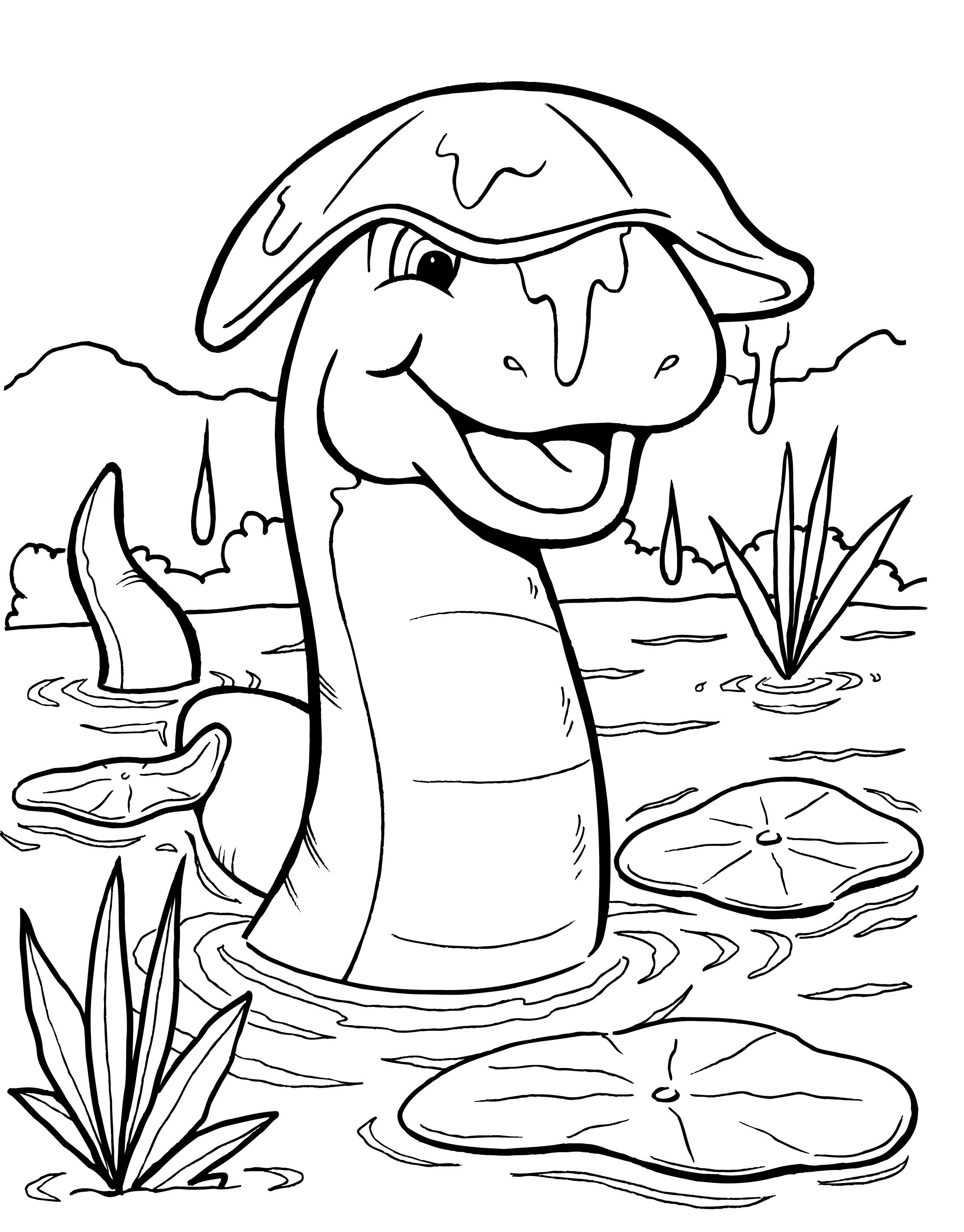 lily coloring book pages - photo#27