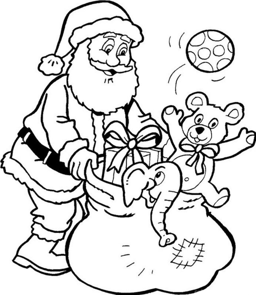 father christmas online coloring pages - photo#10