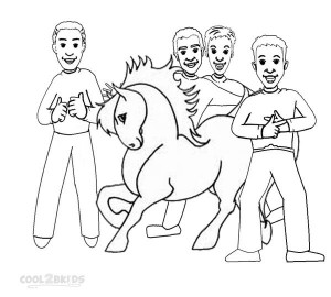 Printable Wiggles Coloring Pages