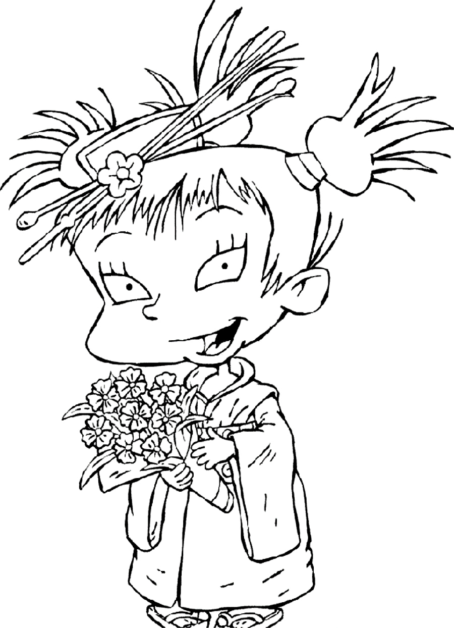 rugrats coloring printable pages - photo#26