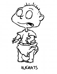 Rugrats Coloring Pages