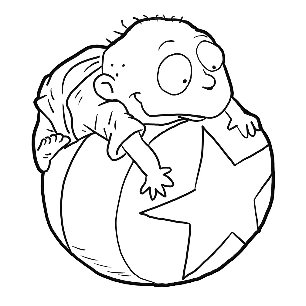 Tommy pickles coloring pages