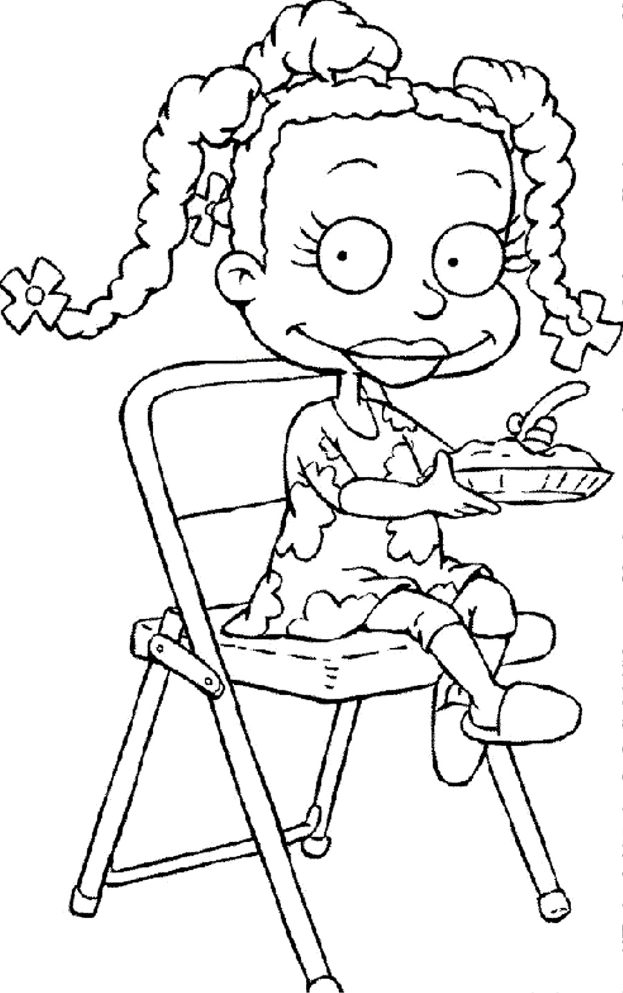 rugrats coloring printable pages - photo#9