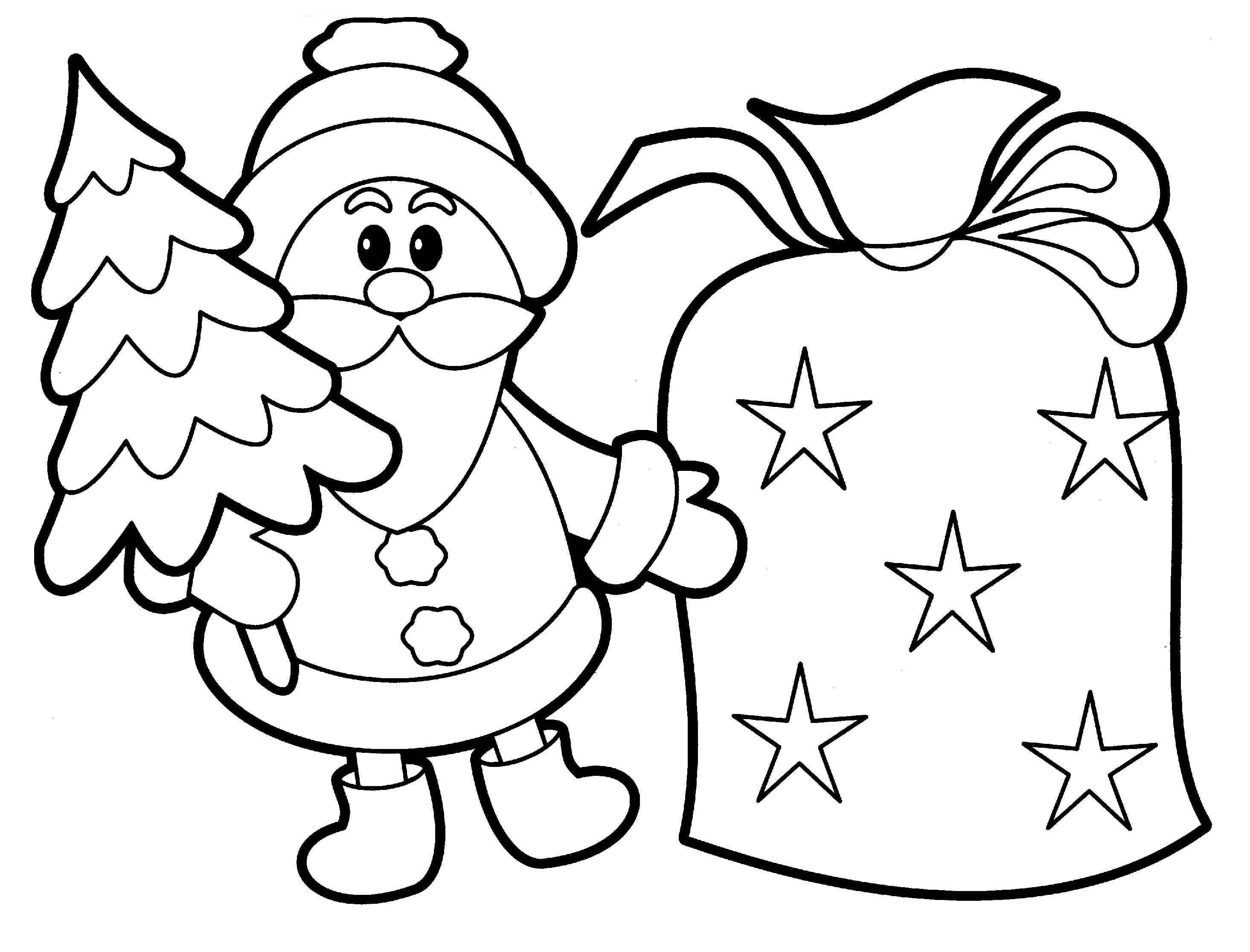 Printable Santa Claus Coloring Pages | Coloring Me
