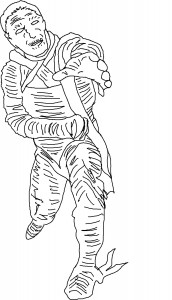 Scary Mummy Coloring Pages