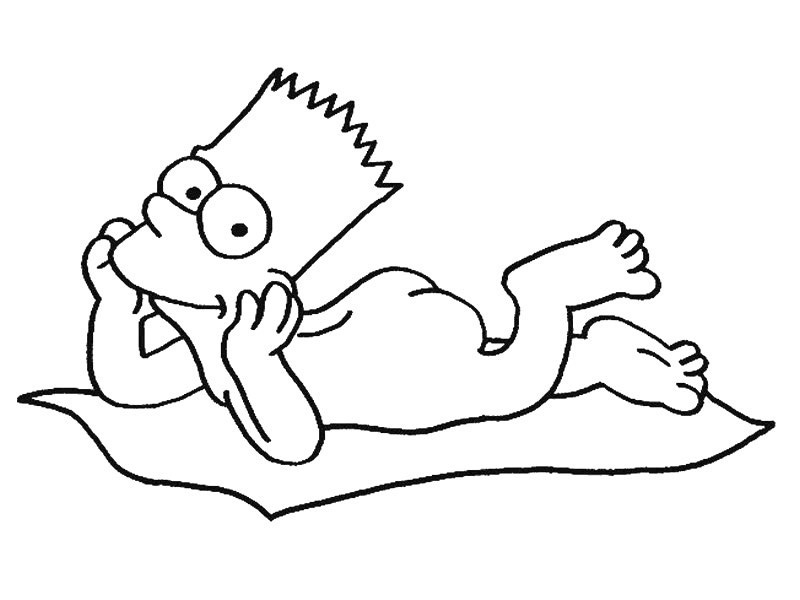 homer simpson halloween coloring pages - photo#31