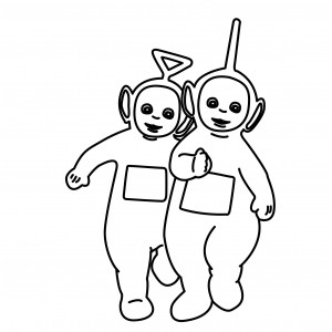 Teletubbies Coloring Sheet