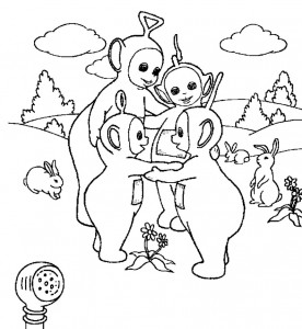 Teletubbies Coloring Sheets