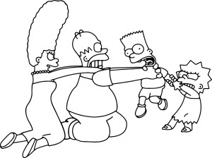 The Simpsons Coloring Sheets to Print