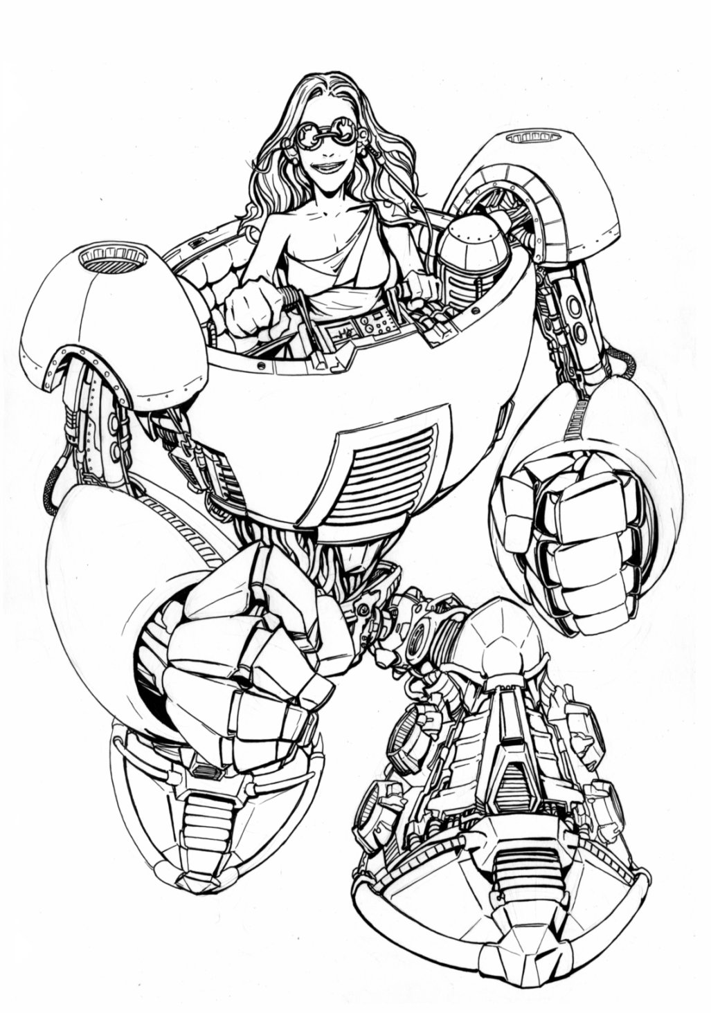 Printable Tron Coloring Pages | Coloring Me