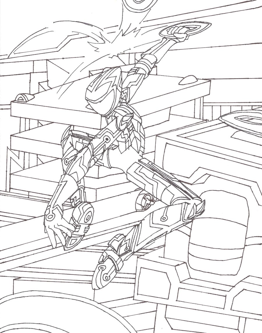 Coloring pages fun TRON LEGACY coloring pages