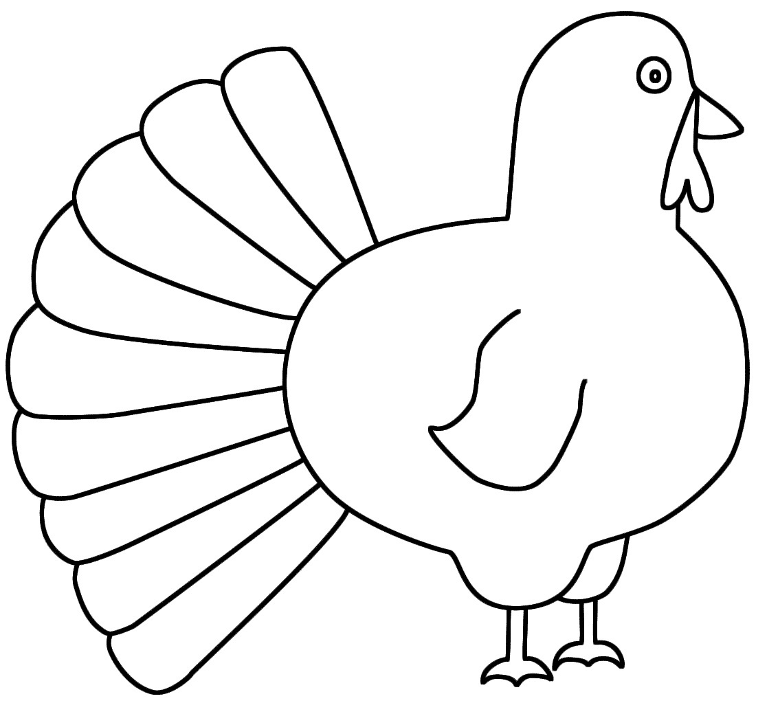 Printable Turkey Coloring Pages Coloring Me Turkey Coloring Pages For