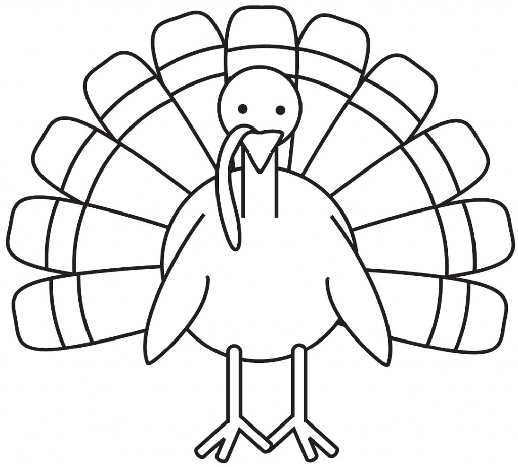 Printable Turkey Coloring Pages Coloring Me Turkey Coloring Page Printable