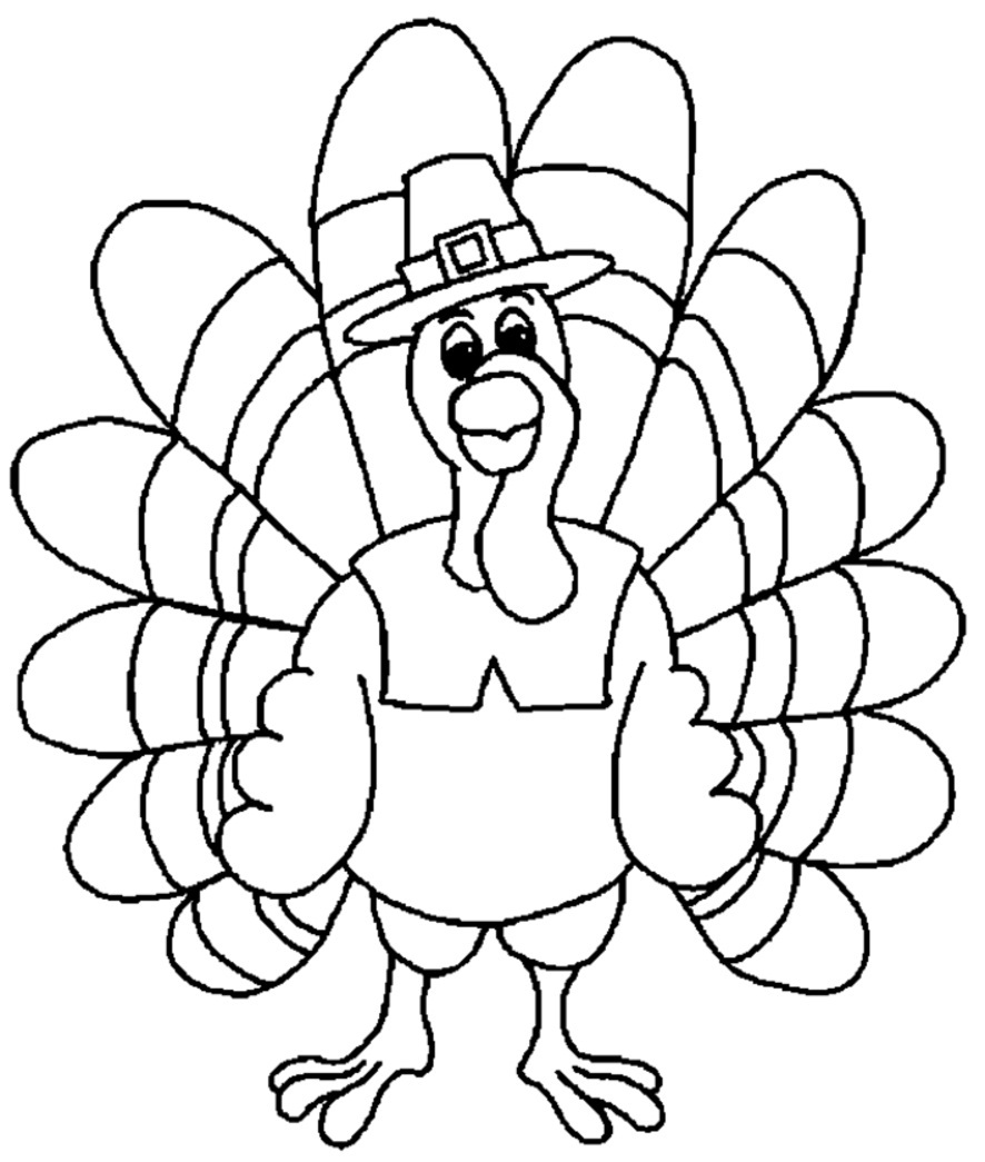 Disney coloring pages thanksgiving - Turkey Coloring Pages Printable Turkey Coloring Pages Coloring Me On Turkey Coloring Page Printable