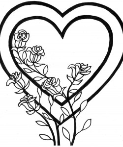 Valentine Days Coloring Pages to Print