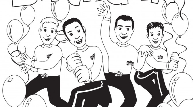 free wiggles coloring pages - photo#30