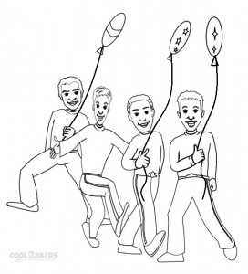 Wiggles Coloring Pages For Free