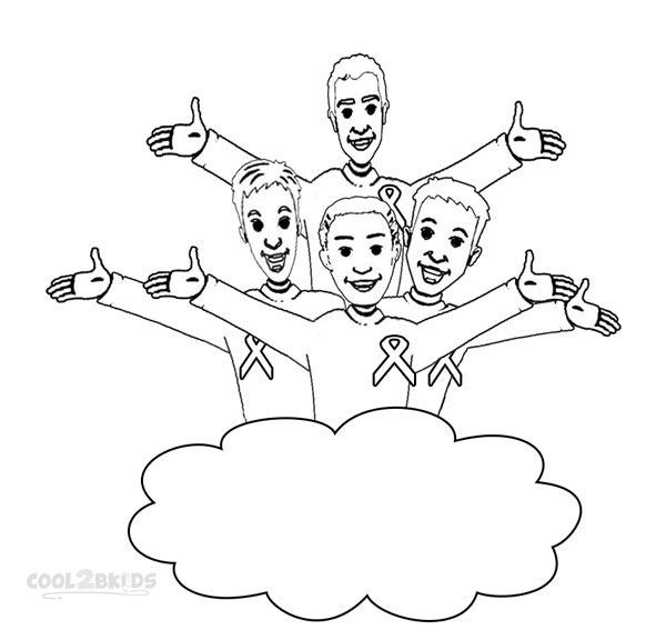 wiggles coloring pages to print - Wiggles Pictures To Print