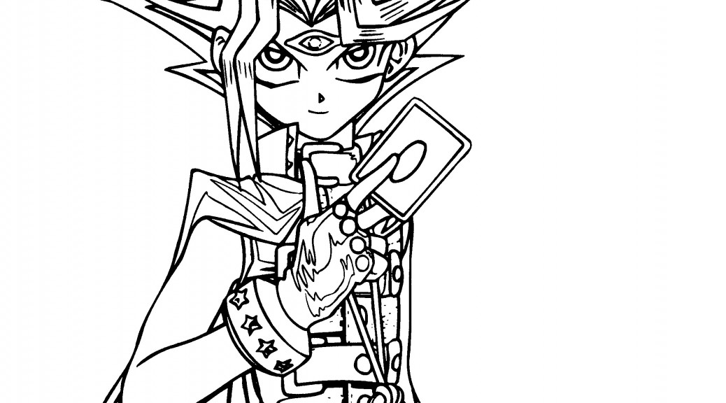 printable yugioh coloring pages coloring me