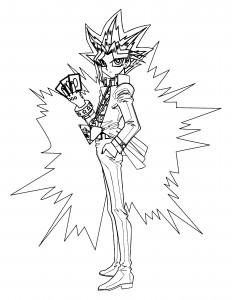 Yugioh Coloring Pages to Print