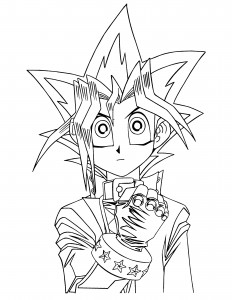 Yugioh Free Coloring Pages