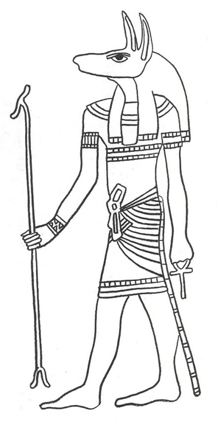 egyptian color pages | Back to Coloring pages egypt category ... | 1355x700