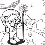 Printable Astronaut Coloring Pages | ColoringMe.com