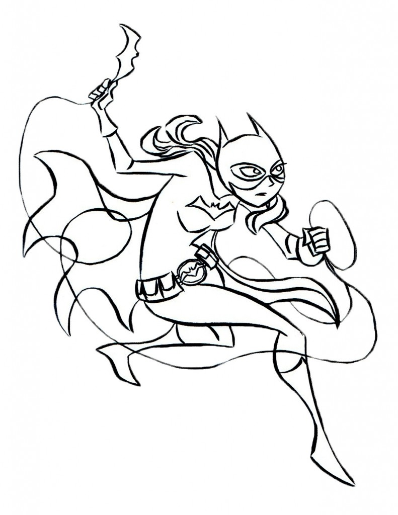 Printable Batgirl Coloring Pages Coloring Me Batgirl And Supergirl Coloring Pages Printable