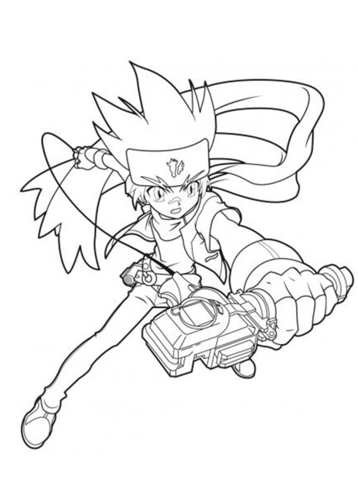 beyblade coloring sheets - Beyblade Coloring Pages