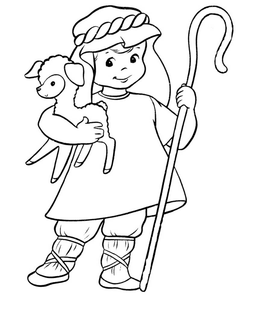 coloring pages of bible characters - photo#15
