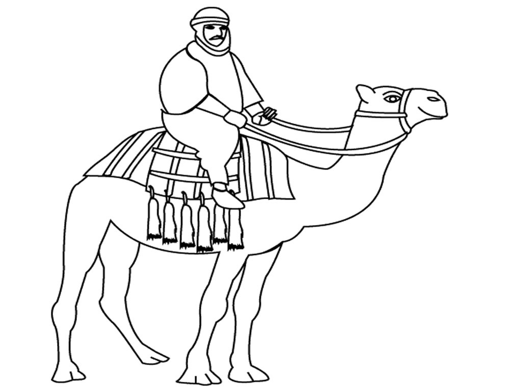 Printable Camel Coloring Pages Coloring Me Camel Coloring Pages