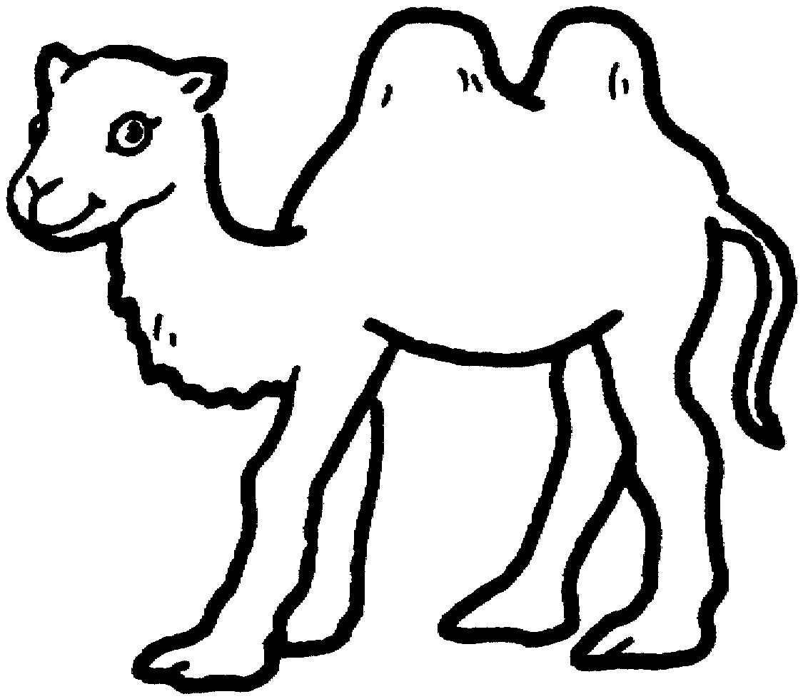 Free coloring pages camel - Camel Coloring Sheets