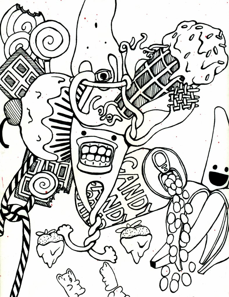 Candyland Coloring Pages Coloring Coloring Pages