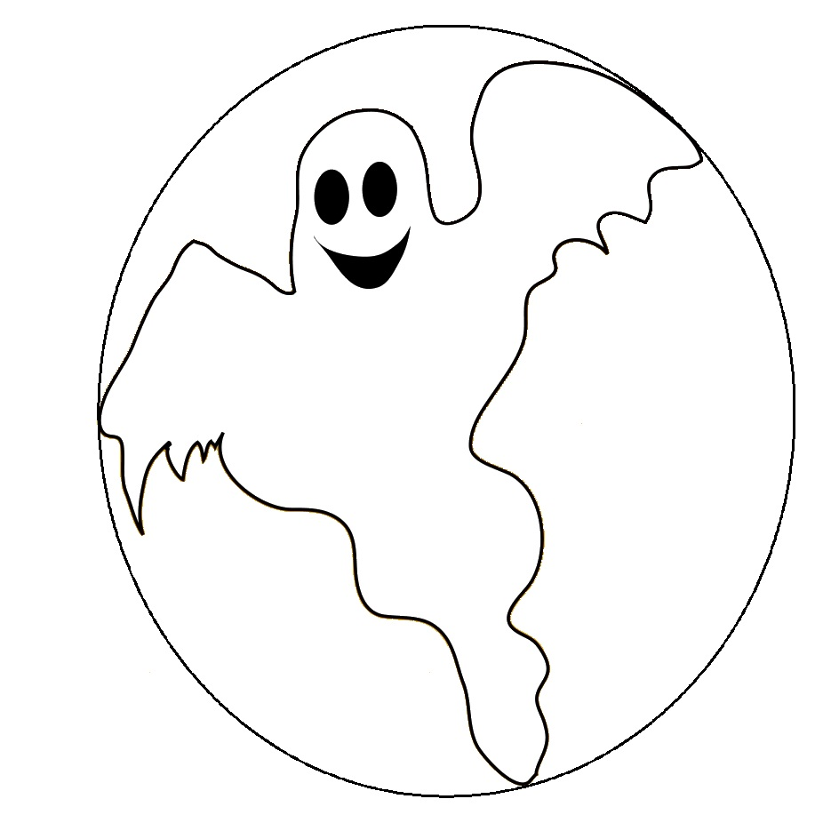 casper ghost coloring pages