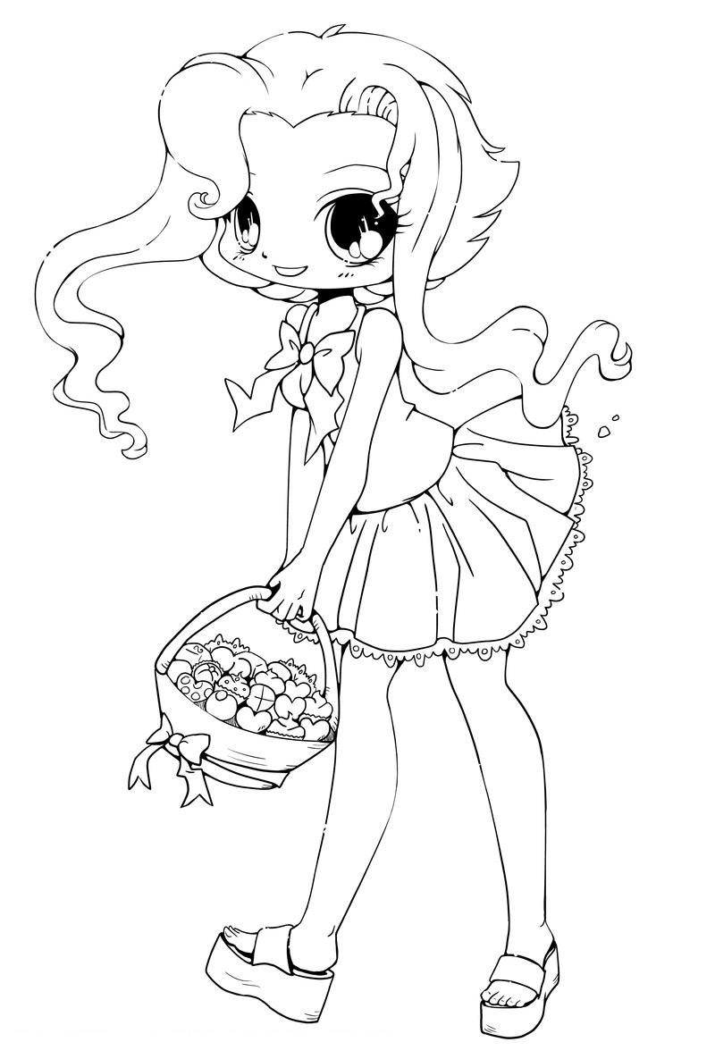 Printable Chibi Coloring Pages Coloring Me Coloring Pages To Print Out For Free