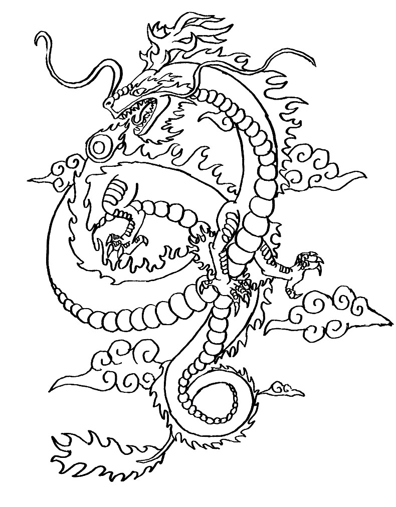 chinese dragon mask coloring pages chinese dragon coloring pages coloring page for kids