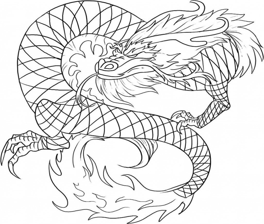Printable Chinese Dragon Coloring Pages | Coloring Me