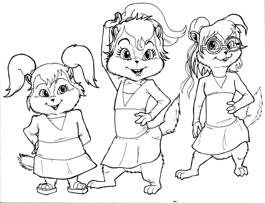 Printable Chipettes Coloring Pages   Coloring Me