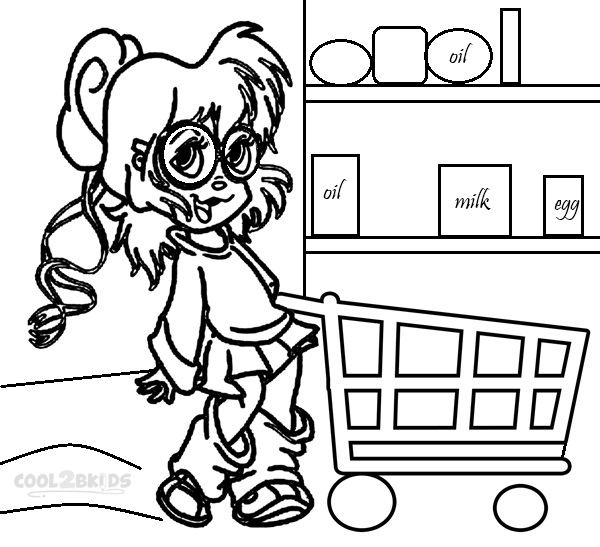 Printable Chipettes Coloring Pages | Coloring Me