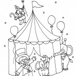 Circus Tent Coloring and Printable  sc 1 st  Coloring Me & Printable Circus Coloring Pages | Coloring Me
