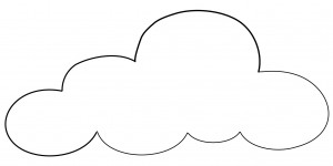Printable Cloud Coloring Pages | Coloring Me