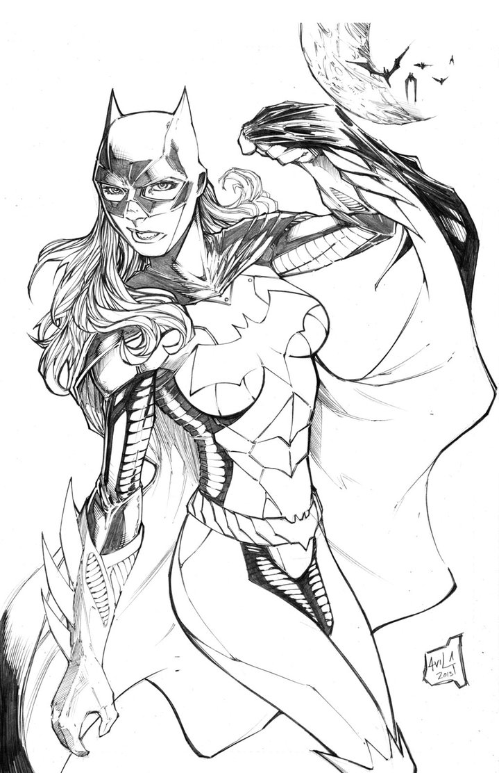 Batgirl coloring page | Free Printable Coloring Pages | 1112x719