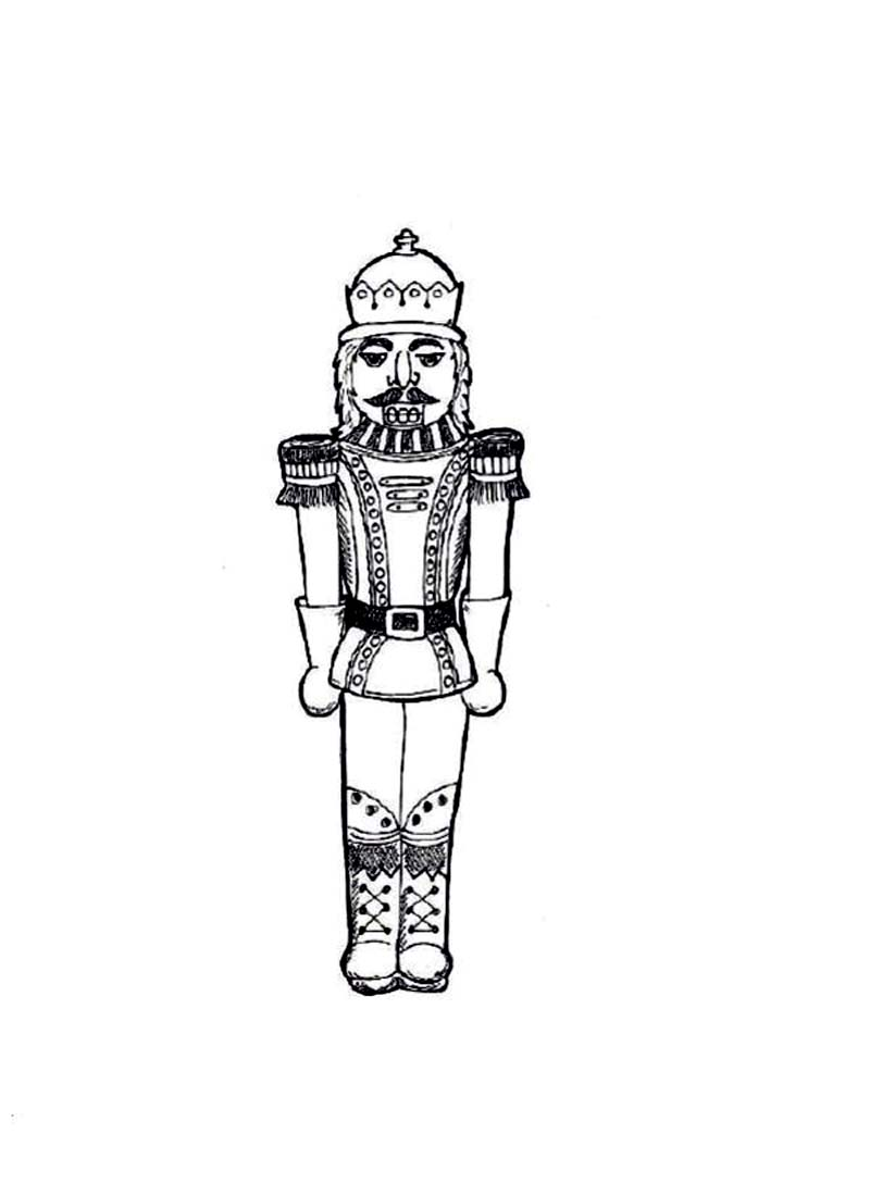 Nutcracker Coloring Sheets Pages Of To Print