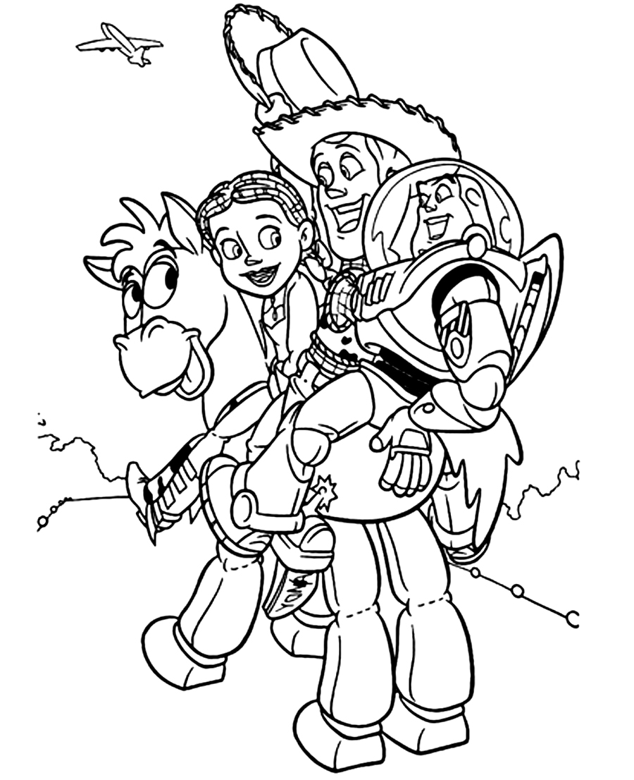 Jessie tv show coloring pages coloring page for Story coloring pages
