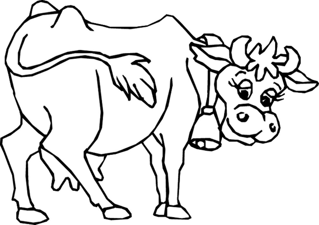 Uncategorized Cow Color Page free cow coloring pages murderthestout printable me