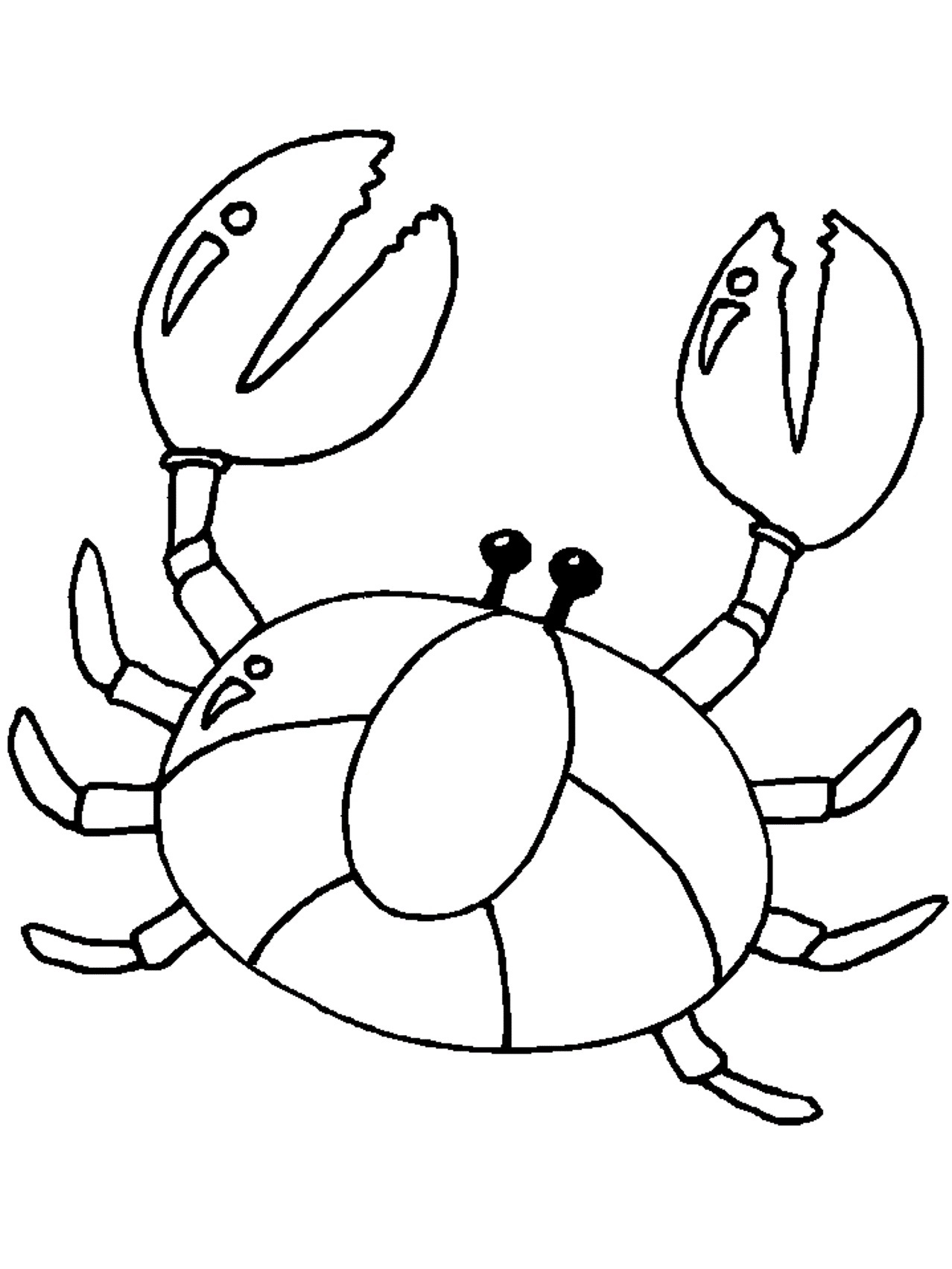 Printable Crab Coloring Pages | Coloring Me