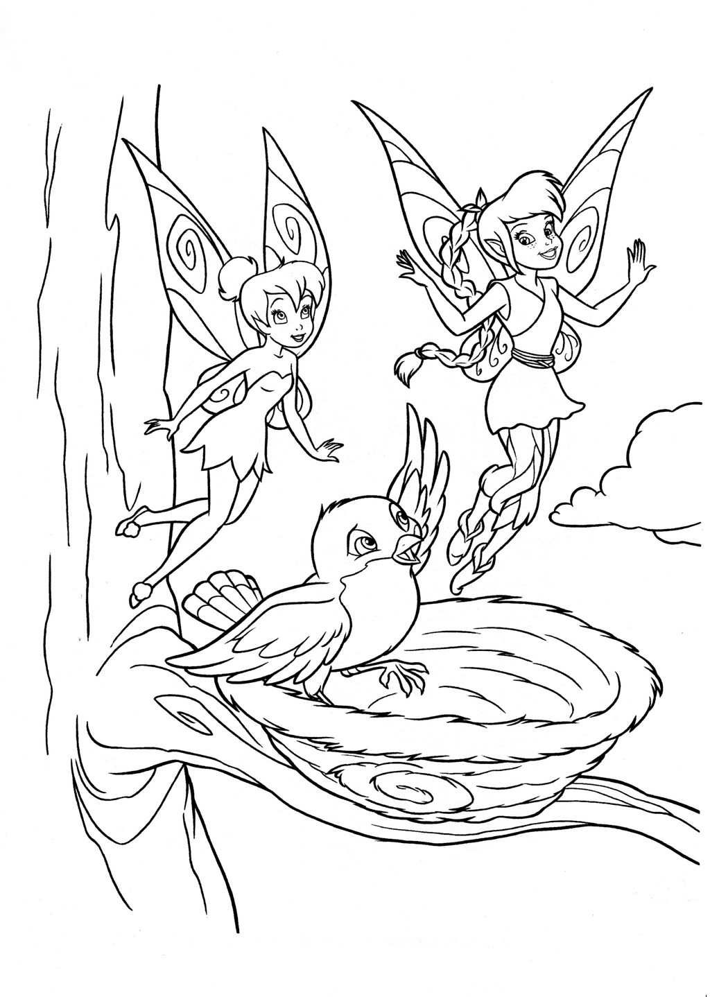Printable Disney Fairies Coloring Pages | Coloring Me